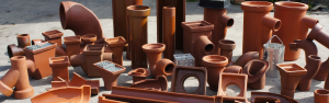 Clay Drainage Collection of Pipes and Fittings, Drainage Channels, Gullies and Accessories