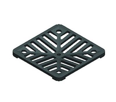 Square drain gate
